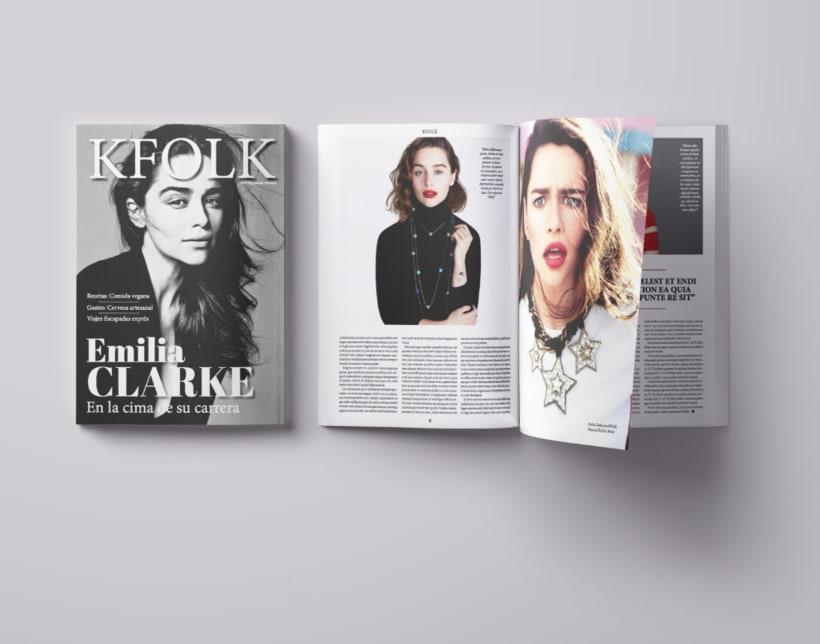 KFOLK Magazine - Proyecto maquetar revista 0