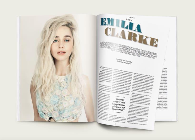 KFOLK Magazine - Proyecto maquetar revista 2
