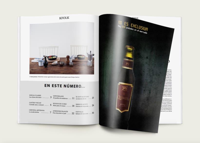 KFOLK Magazine - Proyecto maquetar revista 3