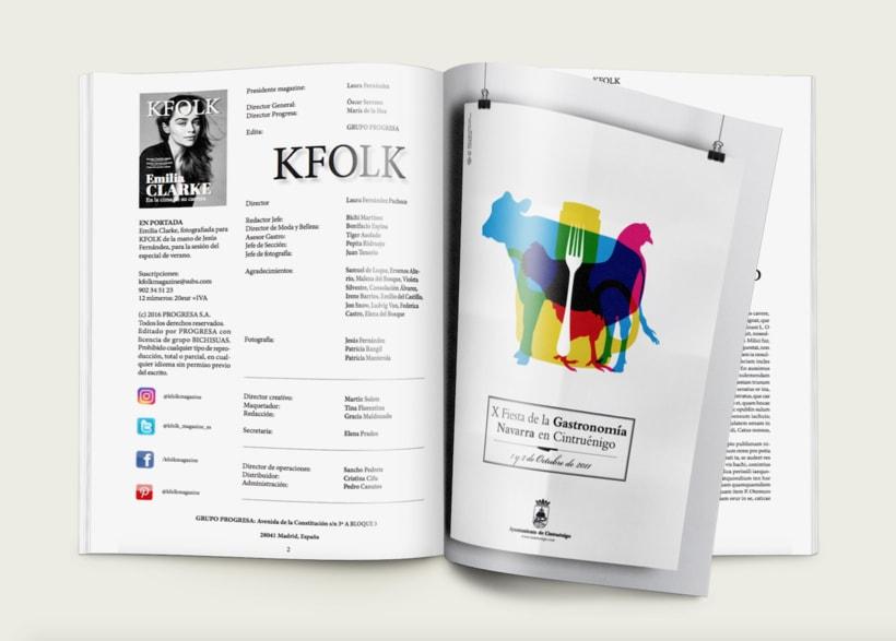 KFOLK Magazine - Proyecto maquetar revista 4