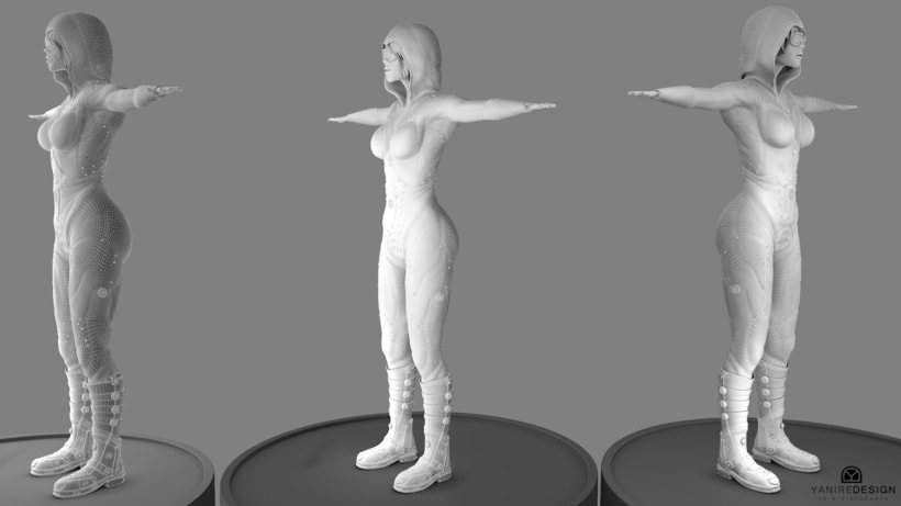 Character Girl 3D 8