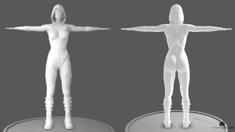 Character Girl 3D 10