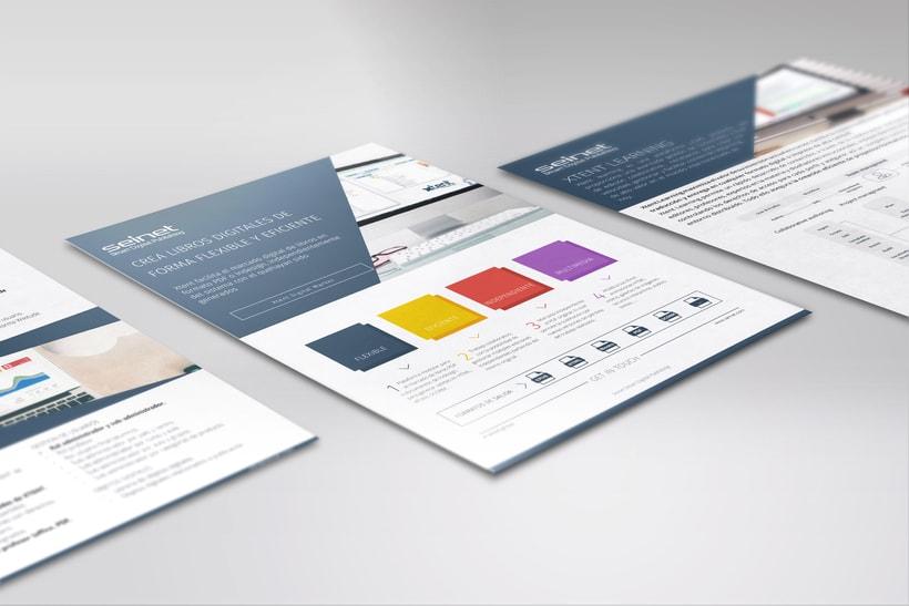 Diseño folletos y newsletter -1