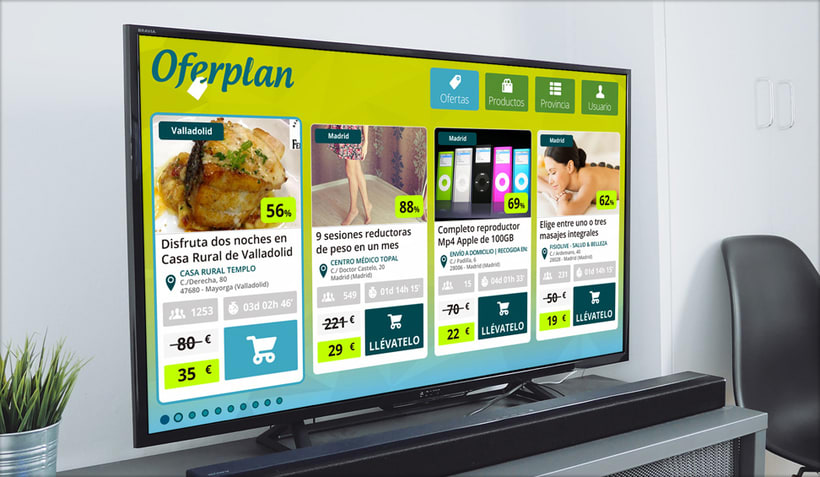 Oferplan · Smart TV 1