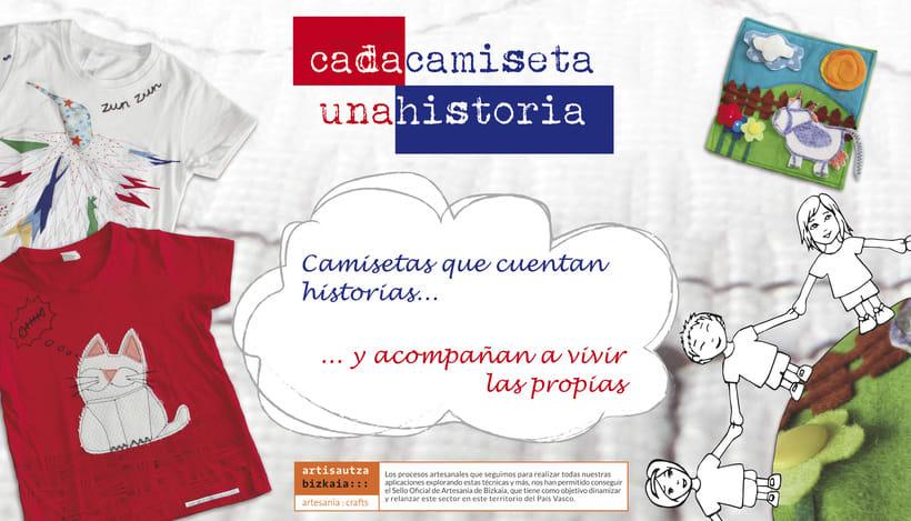 Piezas promocionales para Cadacamisetaunahistoria -1