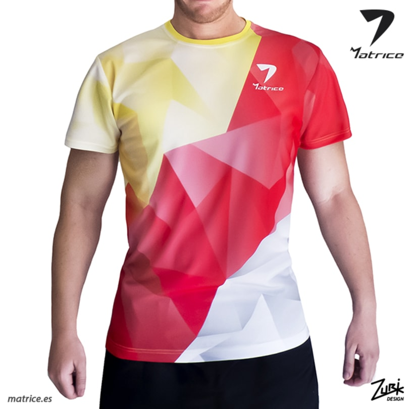 MATRICE: Diseño de camiseta y publicidad 2
