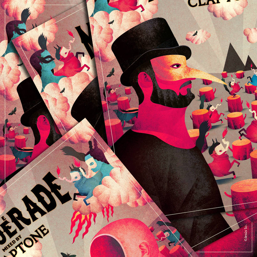 The Masquerade mixed by Claptone 0