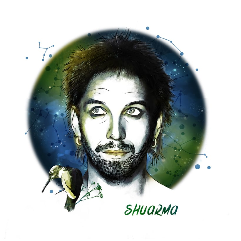 Shuarma: Retrato ilustrado con Photoshop 0