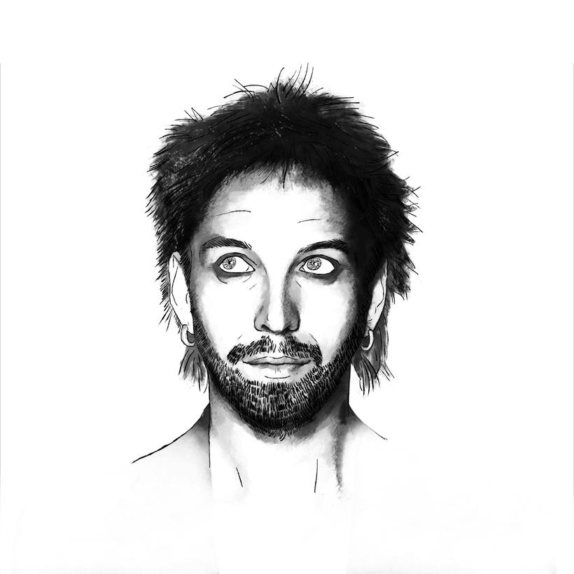 Shuarma: Retrato ilustrado con Photoshop 2