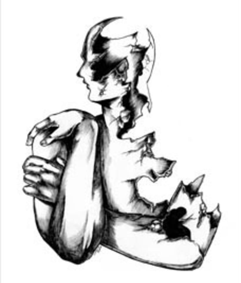"""Libro """"Delirios y sombras"""" 4"""