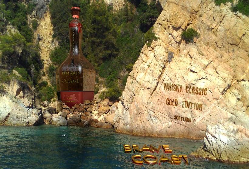 Whisky bottle -1