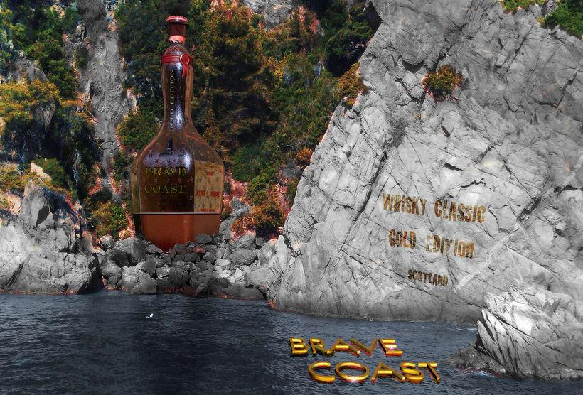 Whisky bottle 0
