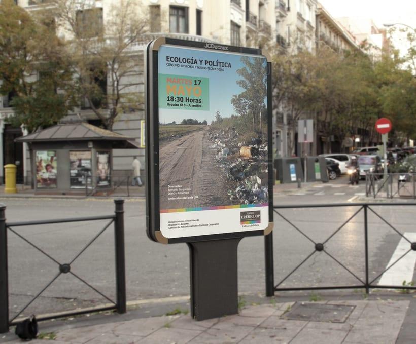Afiche Institucional Banco Credicoop 0