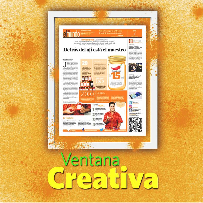 Trabajos en Ventana Creativa 4