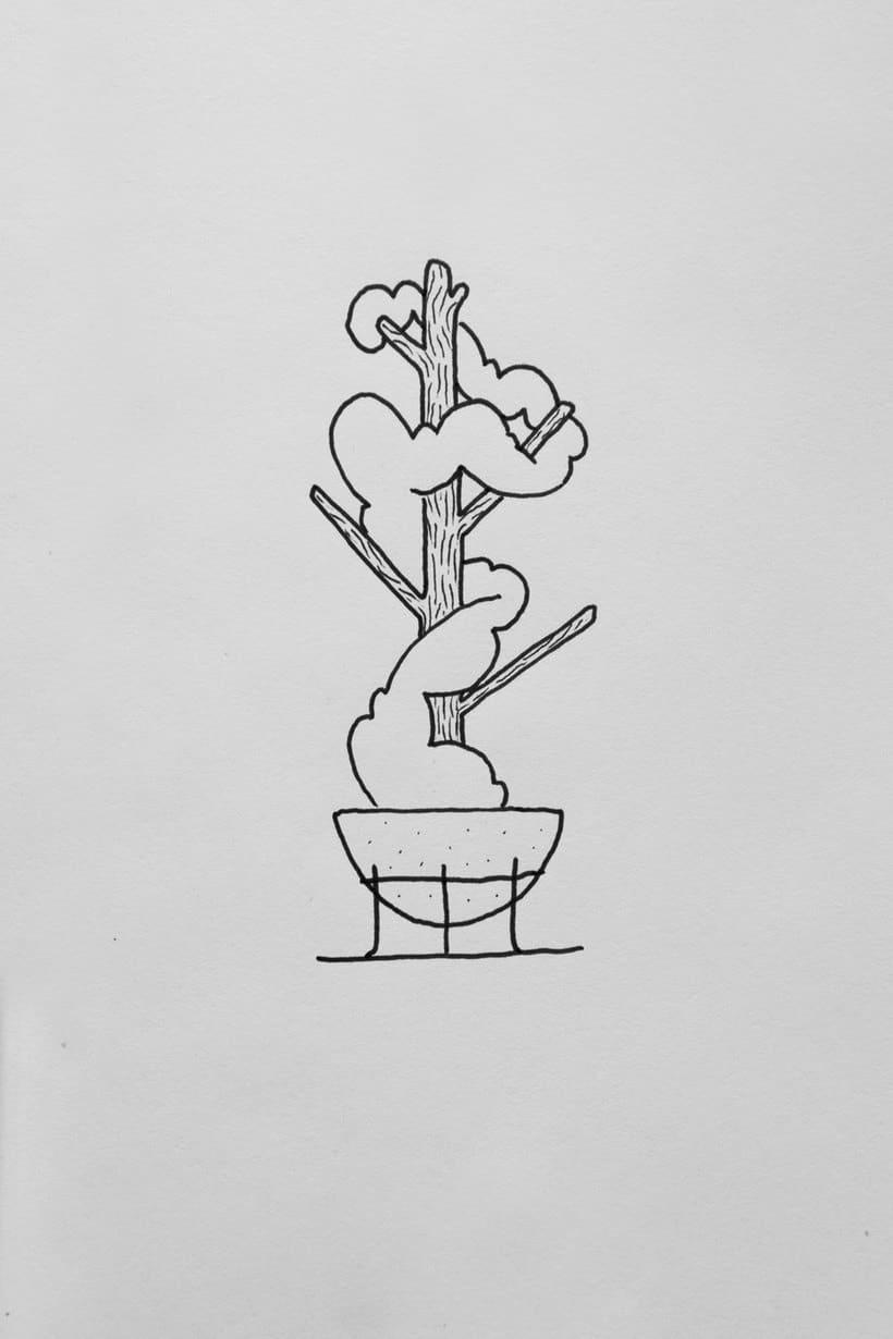 Hugo in Garden, ¿bonsái o escultura? 2