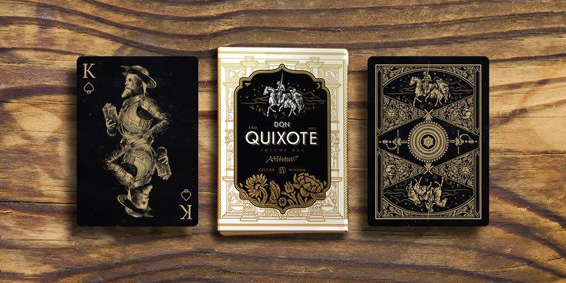 Una baraja que homenajea a Don Quijote 1