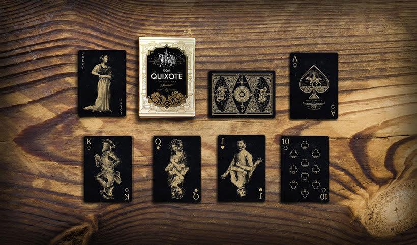 Una baraja que homenajea a Don Quijote 6