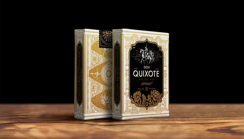 Una baraja que homenajea a Don Quijote 12