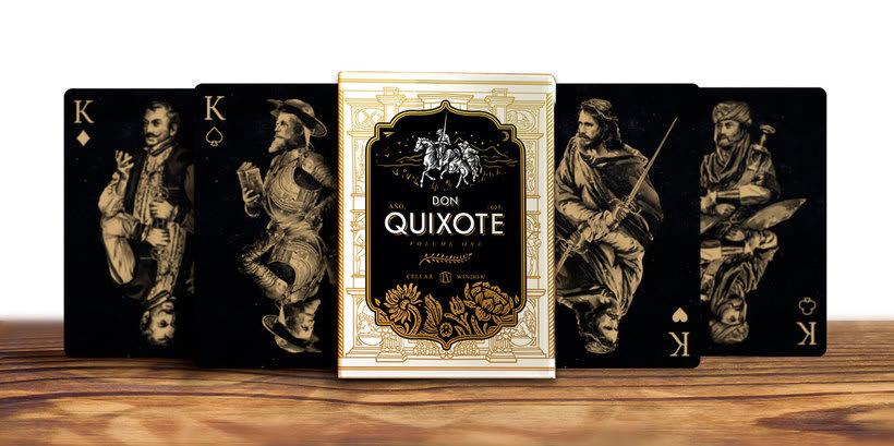 Una baraja que homenajea a Don Quijote 13