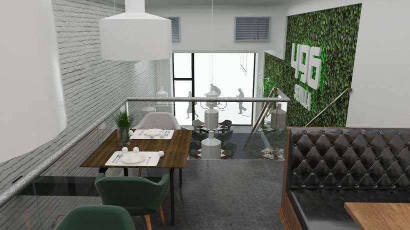 Proyecto 496 Sevilla - Café Bar 1