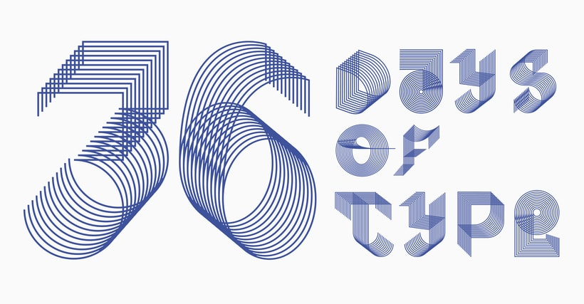 36 Days of type 3rd edition. 0