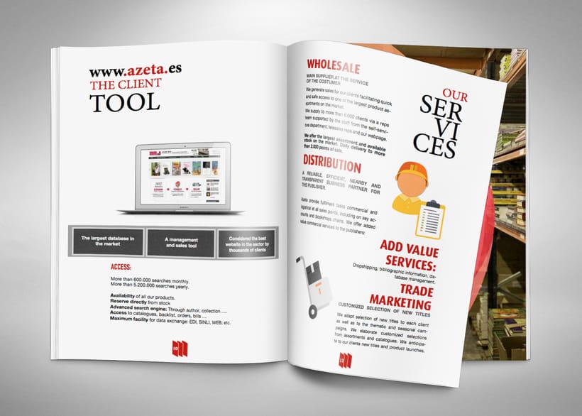 Revista-Dosier de empresa. En/Es 1