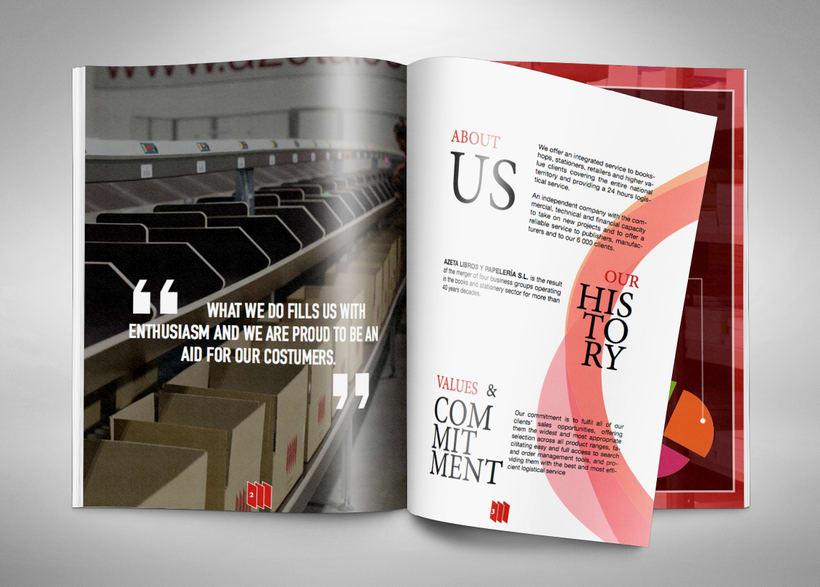 Revista-Dosier de empresa. En/Es 2