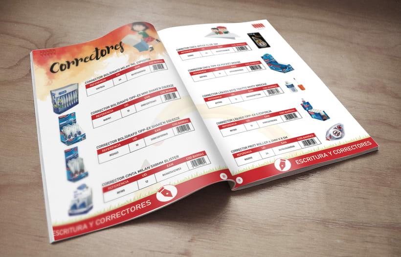 Catálogo de Productos de  papelería 3