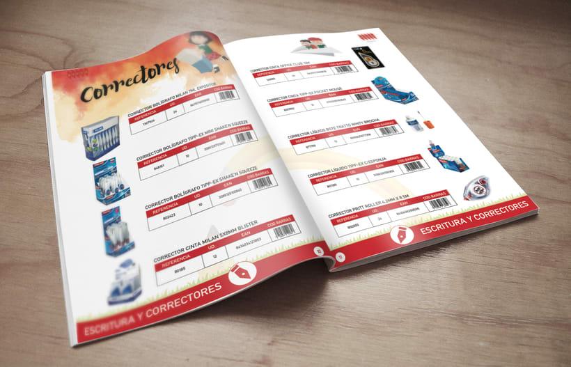 Catálogo de Productos de  papelería 0
