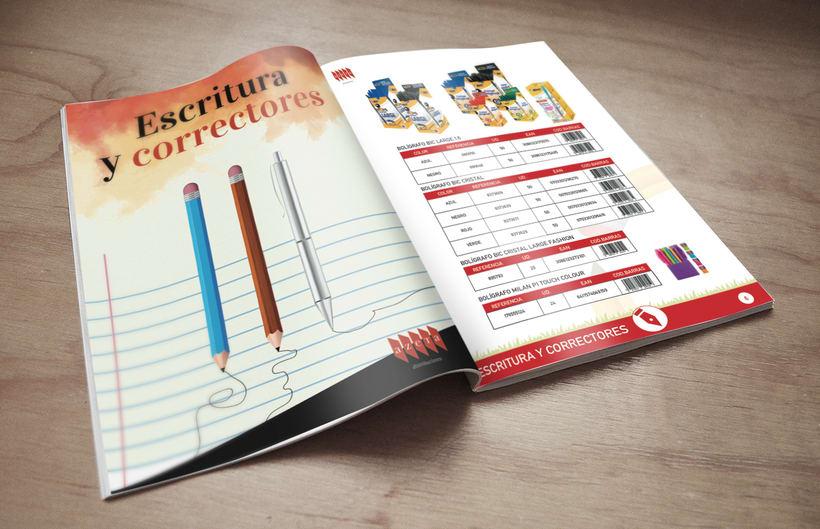 Catálogo de Productos de  papelería 2