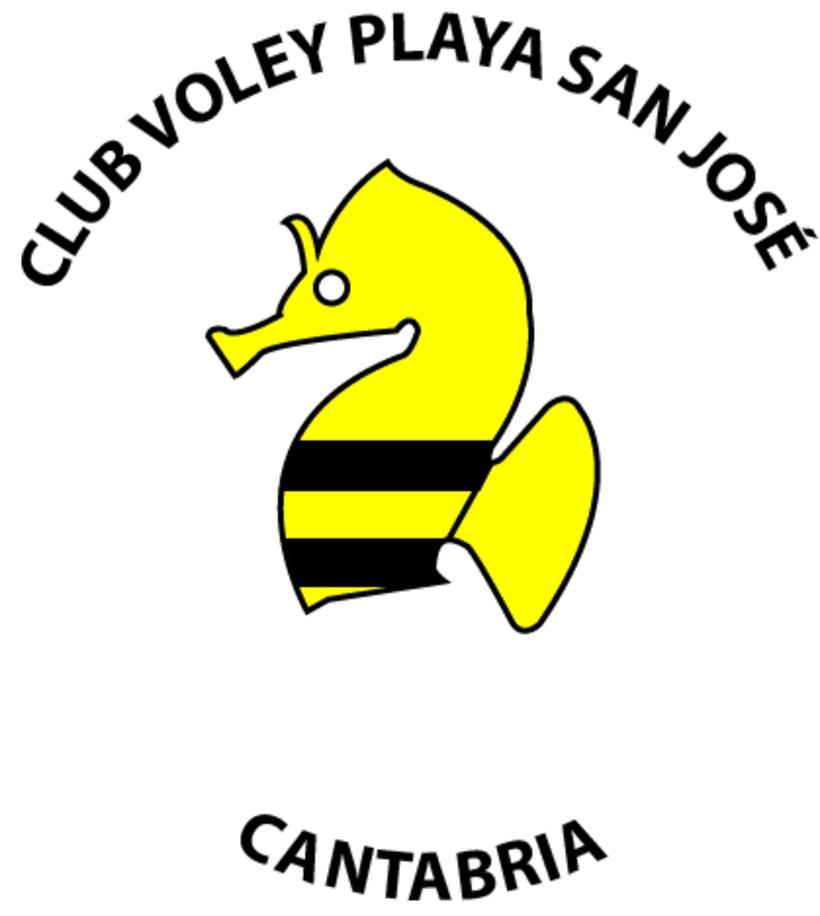 Proyecto de Logo para el Club Voley Playa San José 1