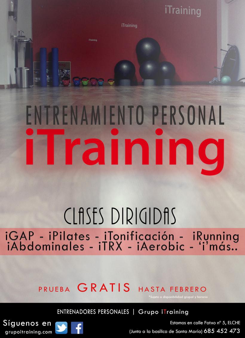 Promoción iTraining | Entrenamiento Personal 0