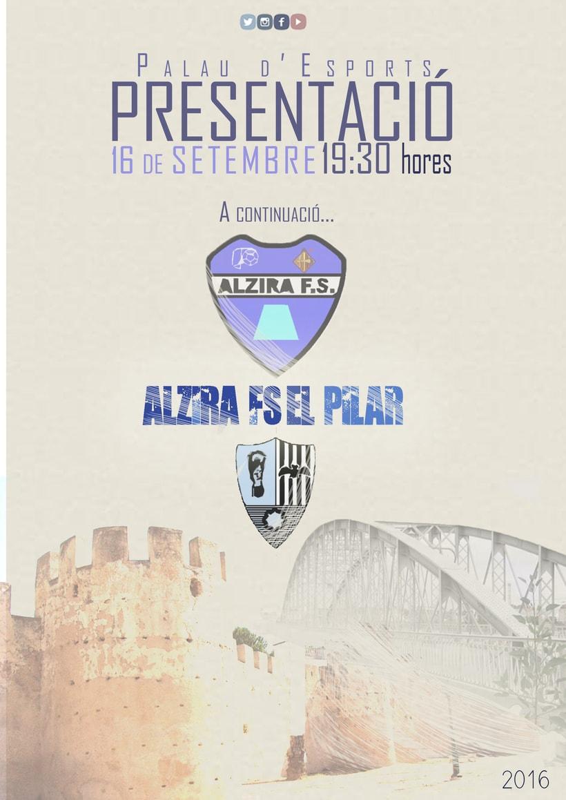 Comunicación |  Alzira Futbol Sala 0
