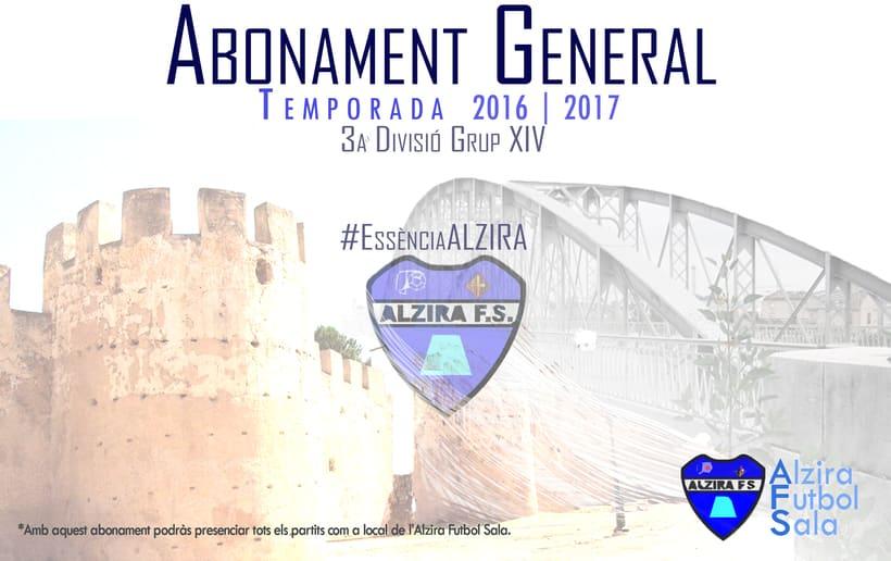 Comunicación |  Alzira Futbol Sala 1