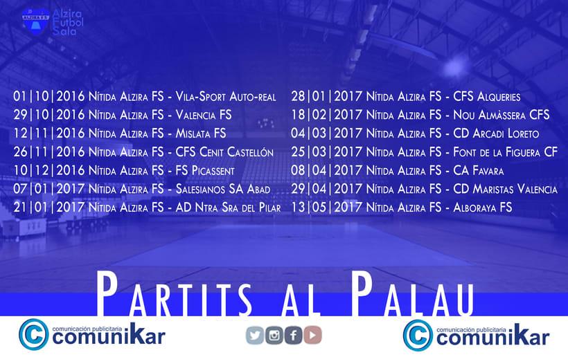 Comunicación |  Alzira Futbol Sala 2
