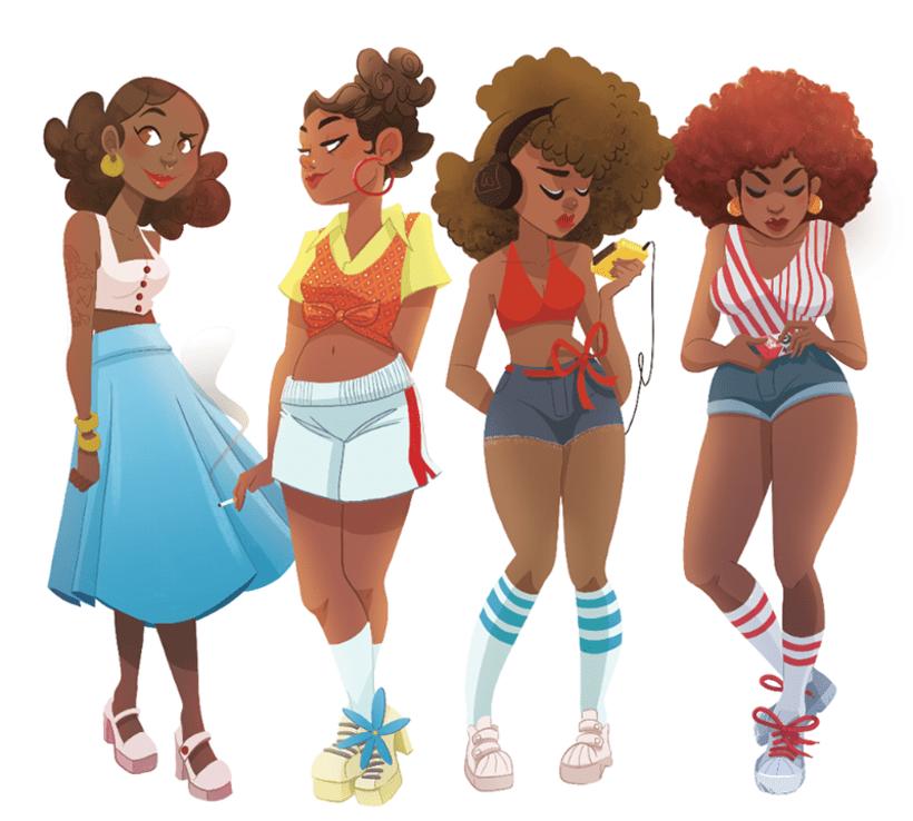 Funky Girls! -1