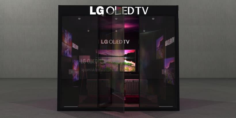 Stand LG Oled TV -1