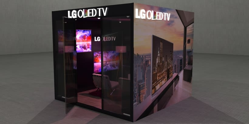 Stand LG Oled TV 0