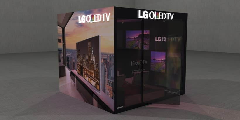 Stand LG Oled TV 1