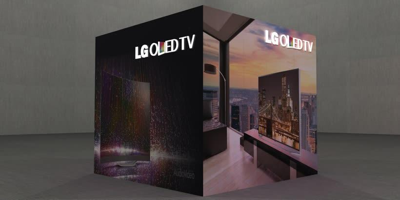 Stand LG Oled TV 2