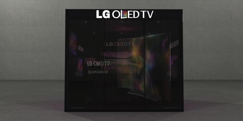 Stand LG Oled TV 4