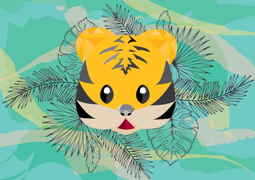 Tigre Whatsapp en la selva -1