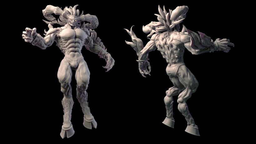 Ifrit Sculpt 0