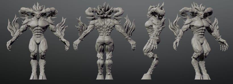 Ifrit Sculpt 4