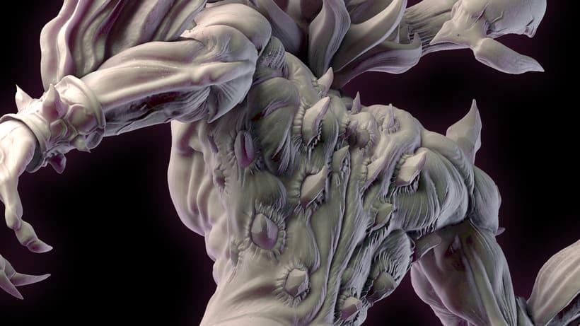 Ifrit Sculpt 3