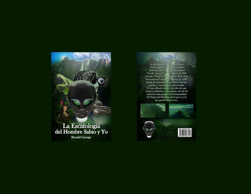 La Escatología del hombre sabio y Yo / Portada 3