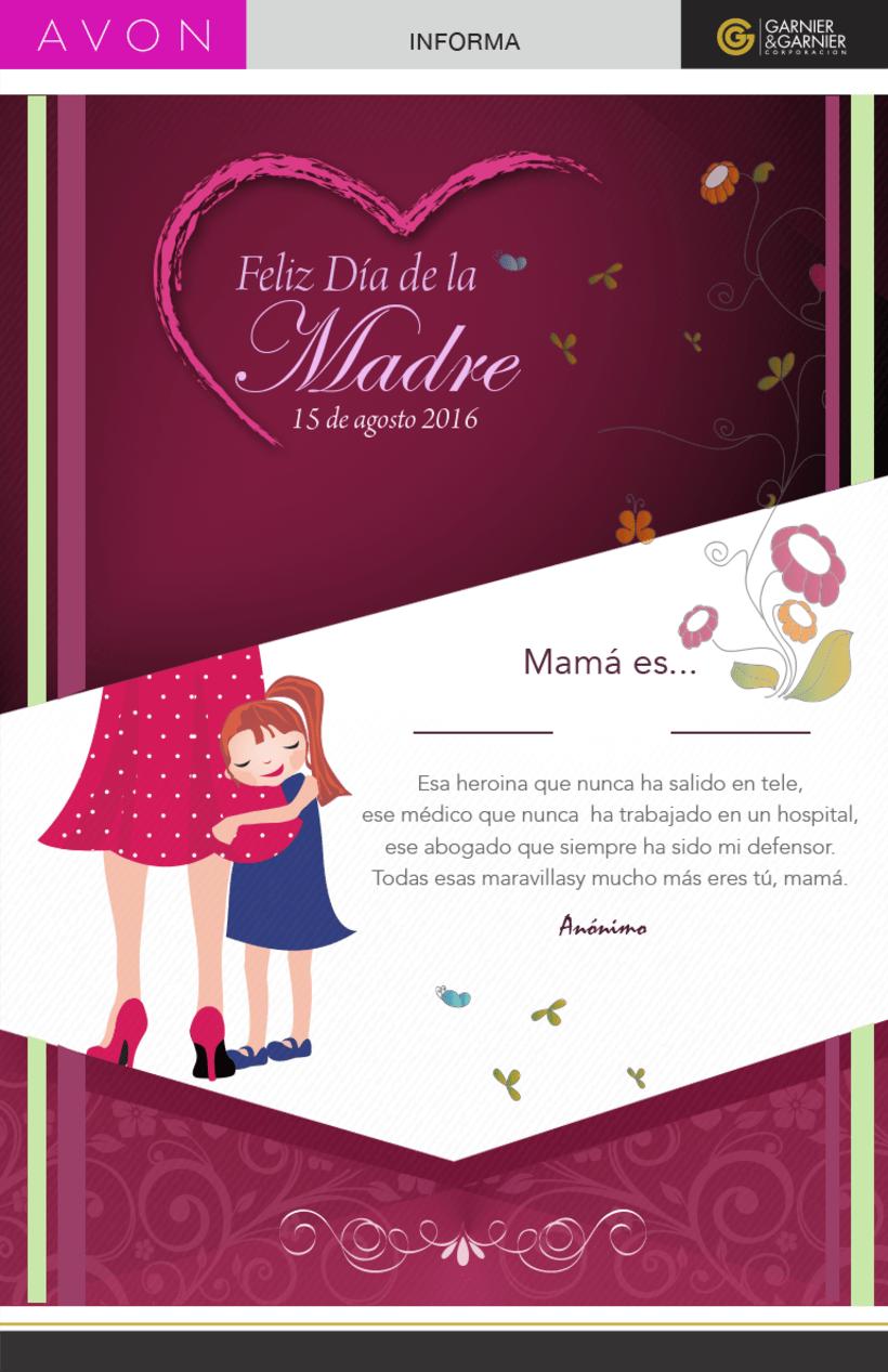 Tarjeta Digital Día de la madre.Copyright © Todos los Derechos Reservados -1