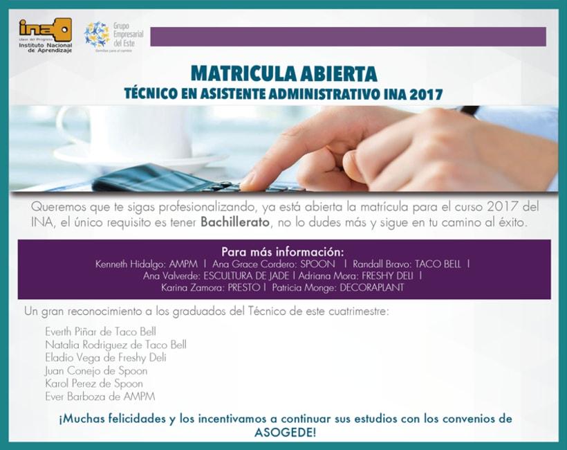 Anuncio Matricula INA Copyright © Todos los Derechos Reservados -1