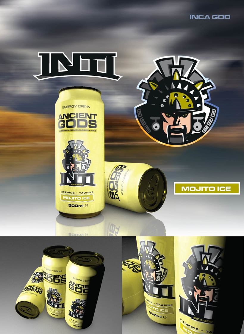 Ancient Gods Energy Drink 3