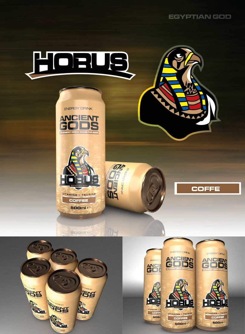Ancient Gods Energy Drink 6